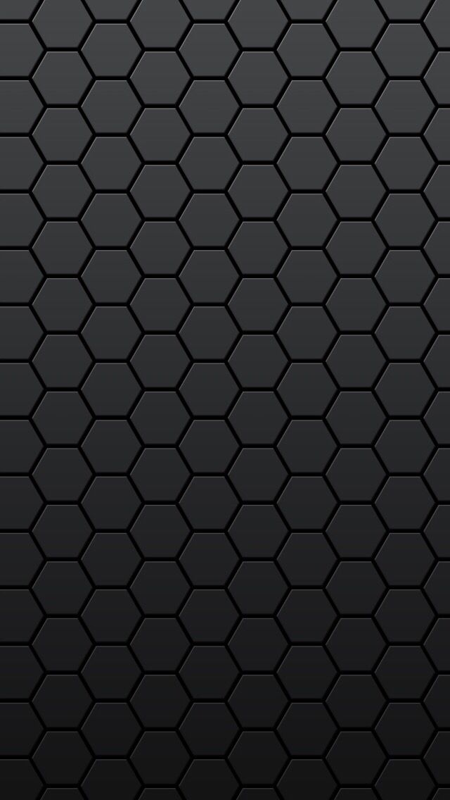 Hexagon Papel De Parede Preto Padroes De Papel De Parede Papel