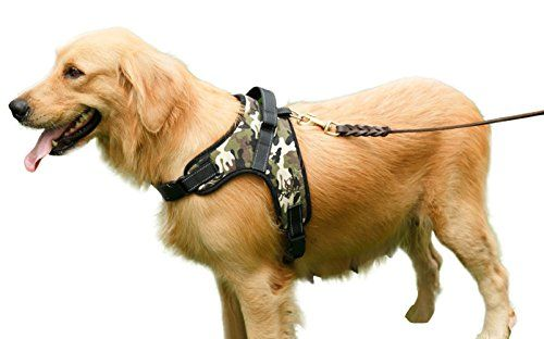 Kuoser Adjustable No Pull Dog Vest Halter Harness Durable Heavy