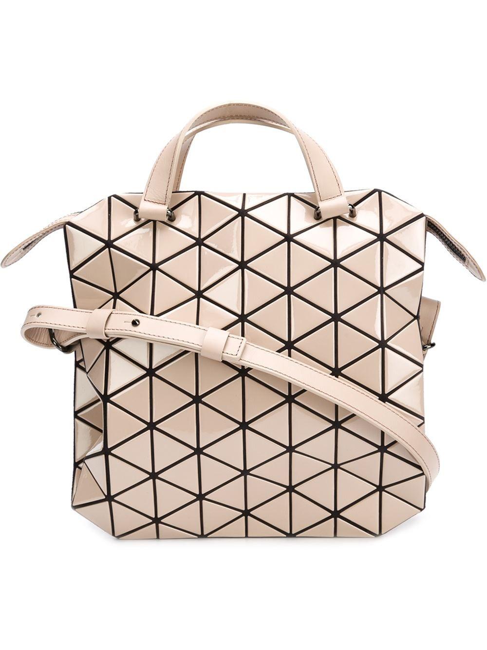 0ee0338b39 simple bao bao issey miyake bao bao crossbody bag kasuri farfetch with bao  beige.