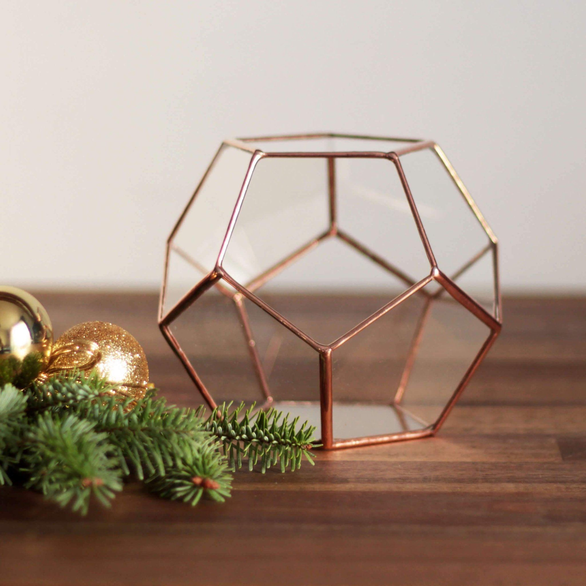 Geometric Terrarium Container Terrarium Container | Gift for Gardeners Small Geometric Terrarium Container | Gift for Gardeners by WaenSmall Geometric Terrarium Container | Gift for Gardeners by Waen