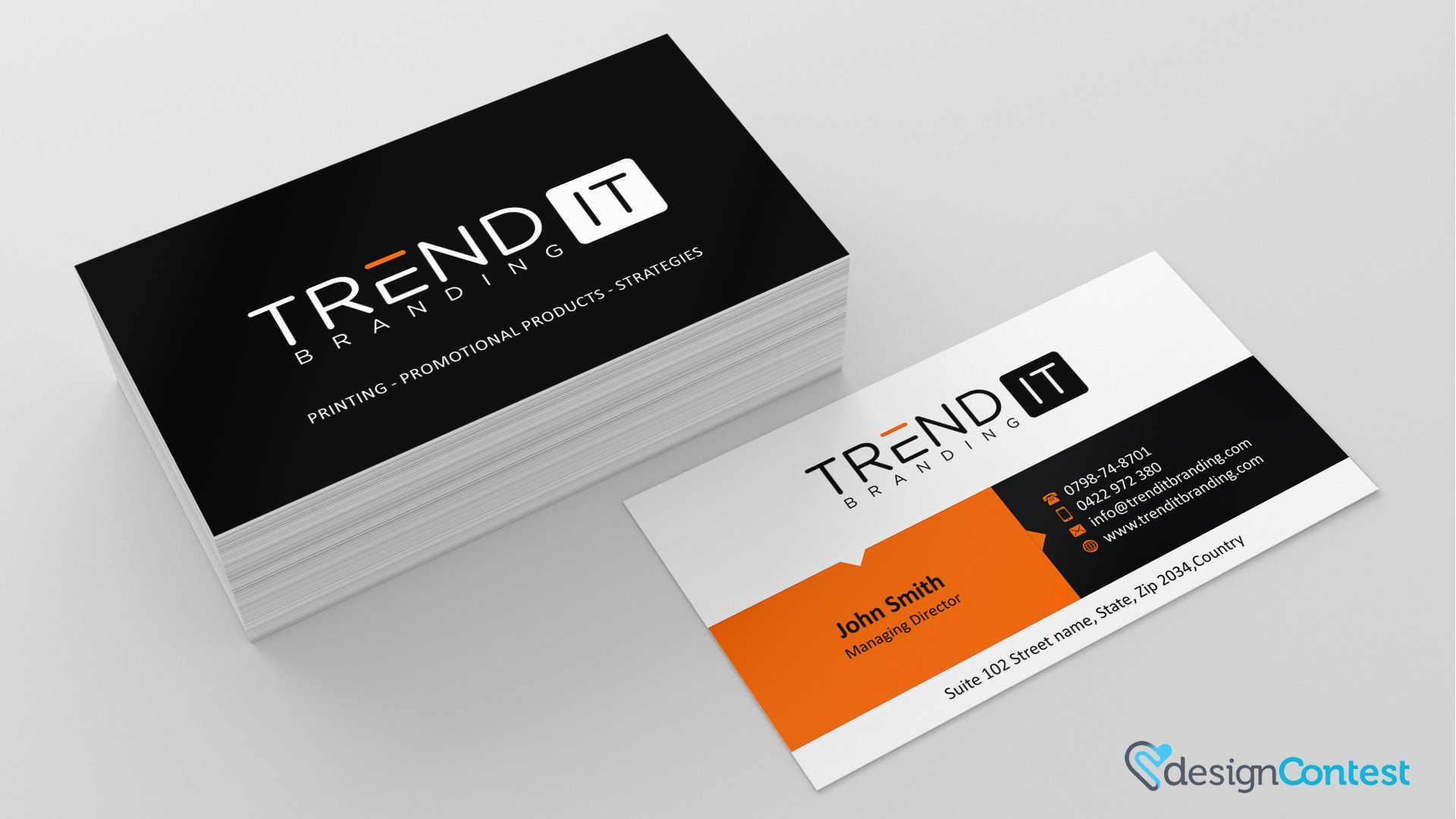 rajagee business card design with designcontest 2 1920×1080