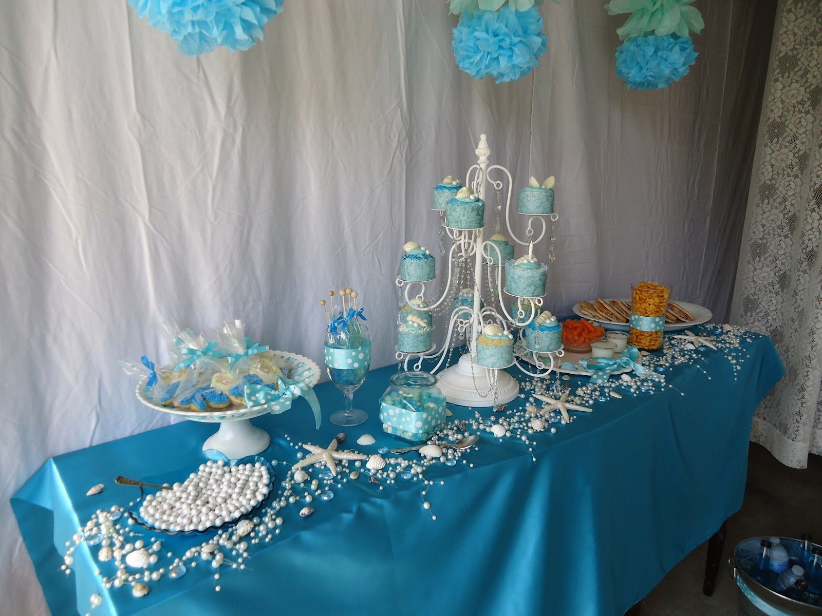 WHIMSICAL MERMAID PARTY IDEAS | Mermaid party decorations ...