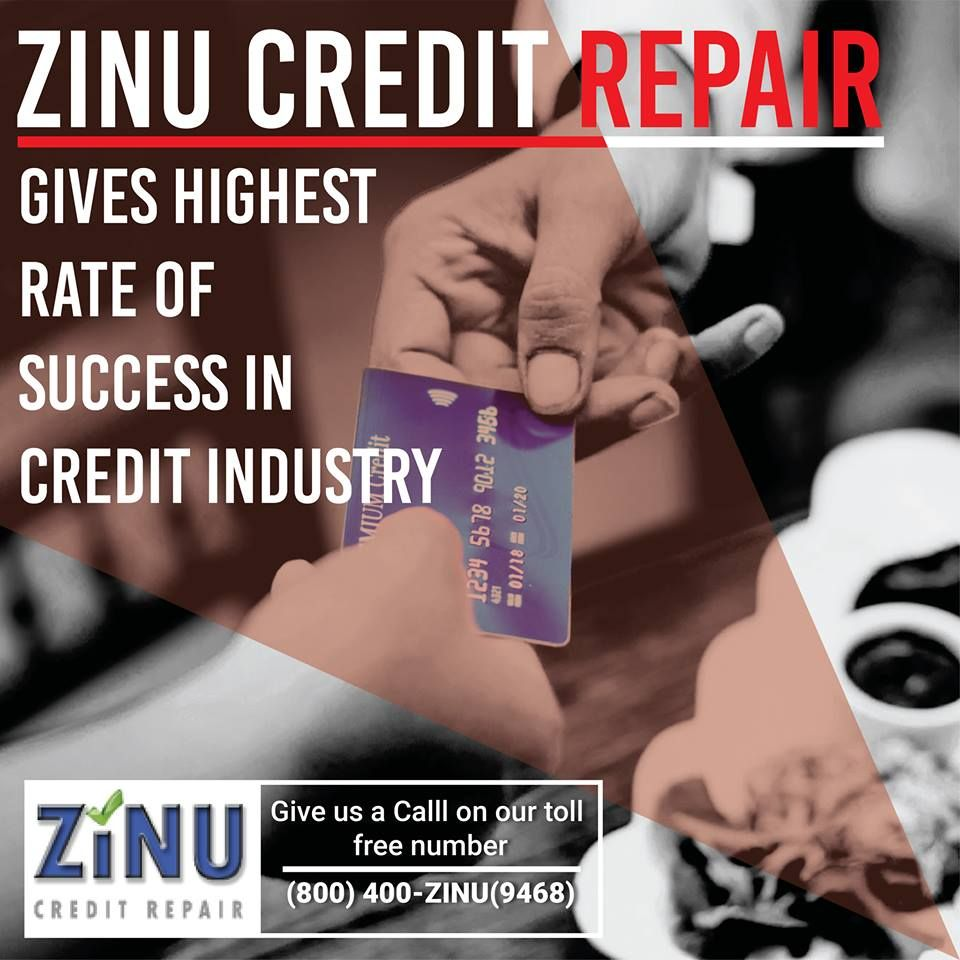 Zinu Credit Repair is the trusted place wherein