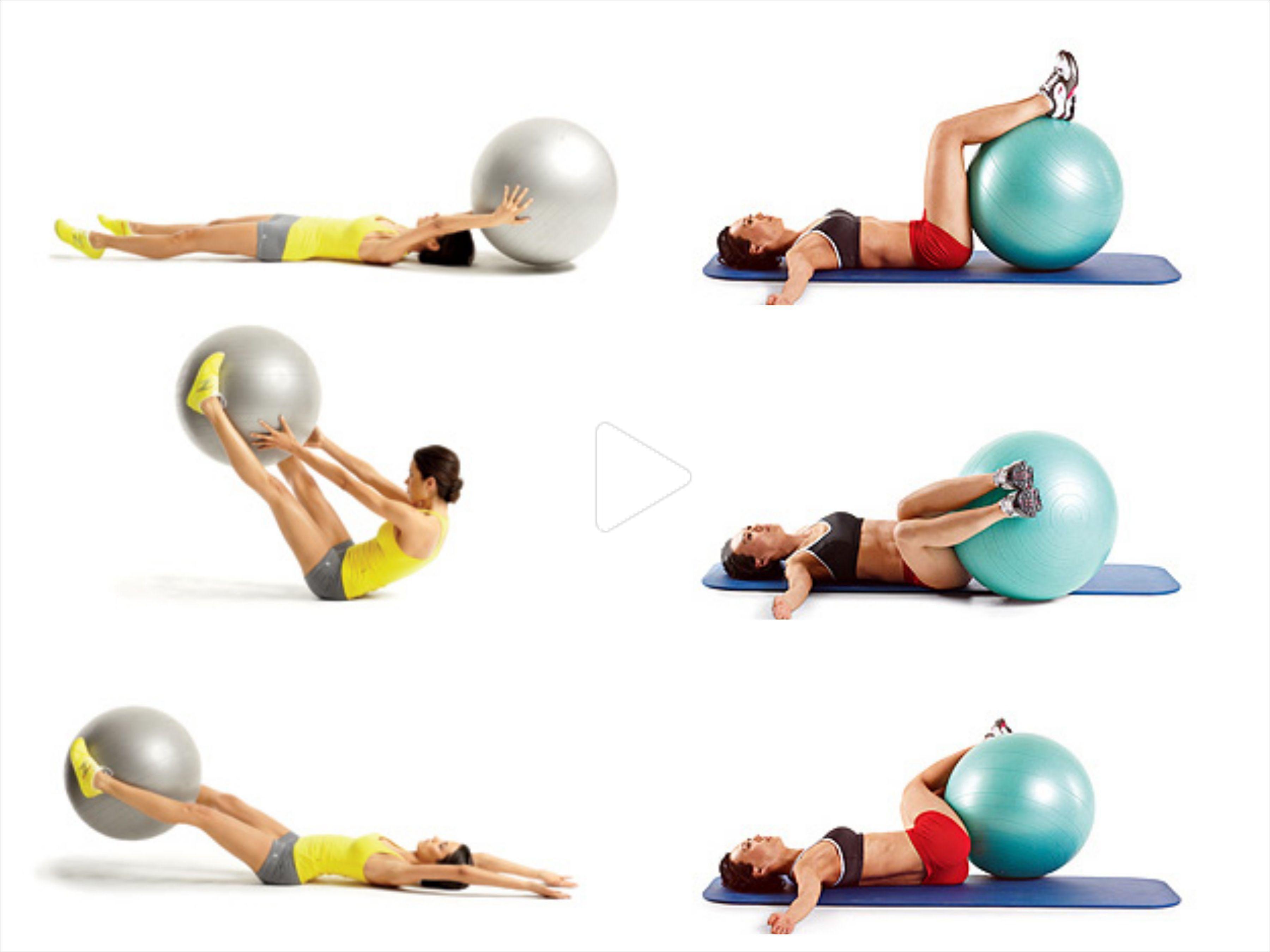 Swiss ball exercises! #swissballexercises Swiss ball exercises!