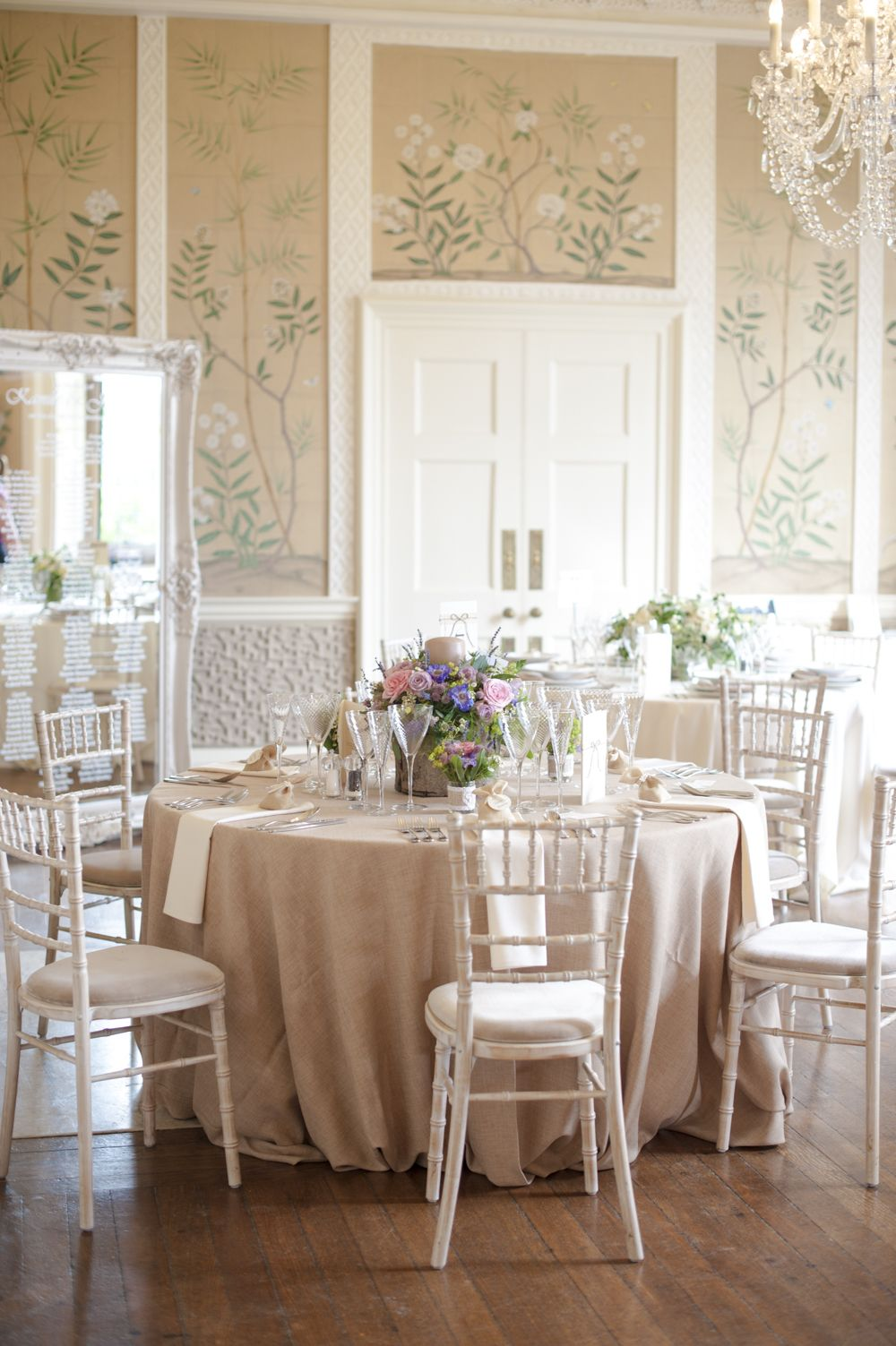 Wedding decorations for house  elegant rustic table setting  Dreamy Receptions  Pinterest