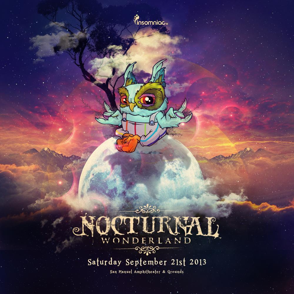 Nocturnal Wonderland  by Insomniac Events San Bernardino California http://nocturnalwonderland.com/experience