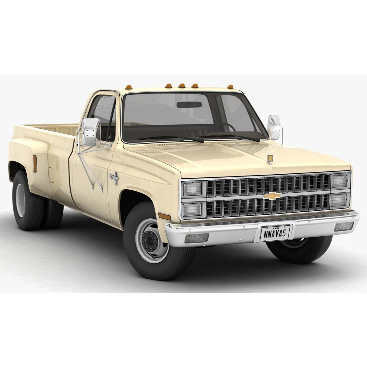 1981 Chevrolet C30 Silverado 3d Model Chevrolet Chevy Trucks Silverado