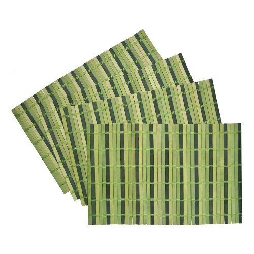 Benson Mills Lollypop Multi Color Bamboo Placemats Set Of 4 Parsley Http Www Amazon Com Dp B004bdoogs Ref Cm Sw R Pi Awd Bamboo Placemats Placemats Bamboo