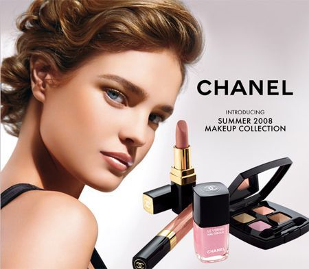 Natalia Vodianova Chanel Beauty, Chanel Fashion, Beauty Ad, Chanel Makeup, Flawless Beauty