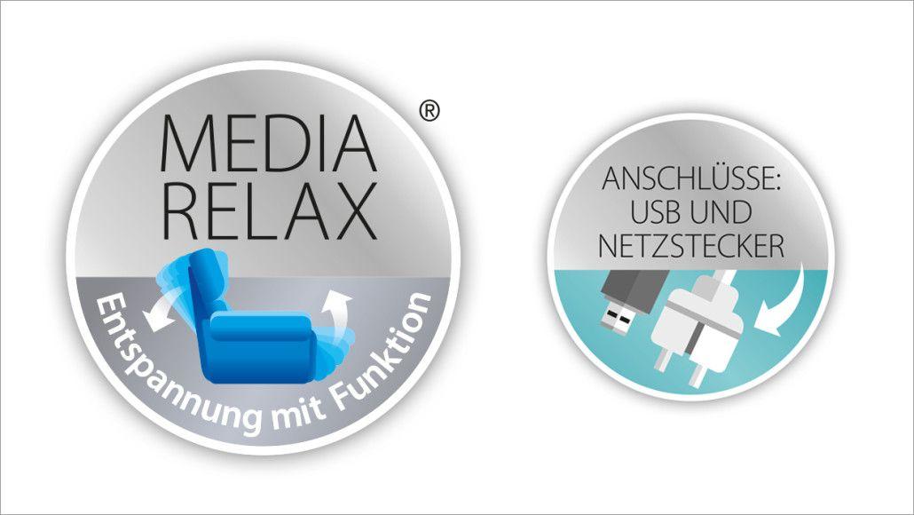 Comfortmaster - MEDIA RELAX kennzeichnet Polstermöbel, welche ...