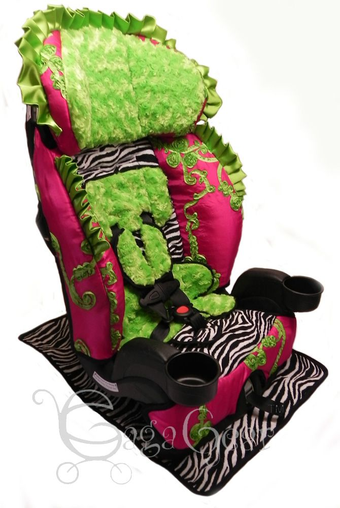 Raelyn Collection From Gagababygear On An Evenflo Chase LX Toddler Car Seat