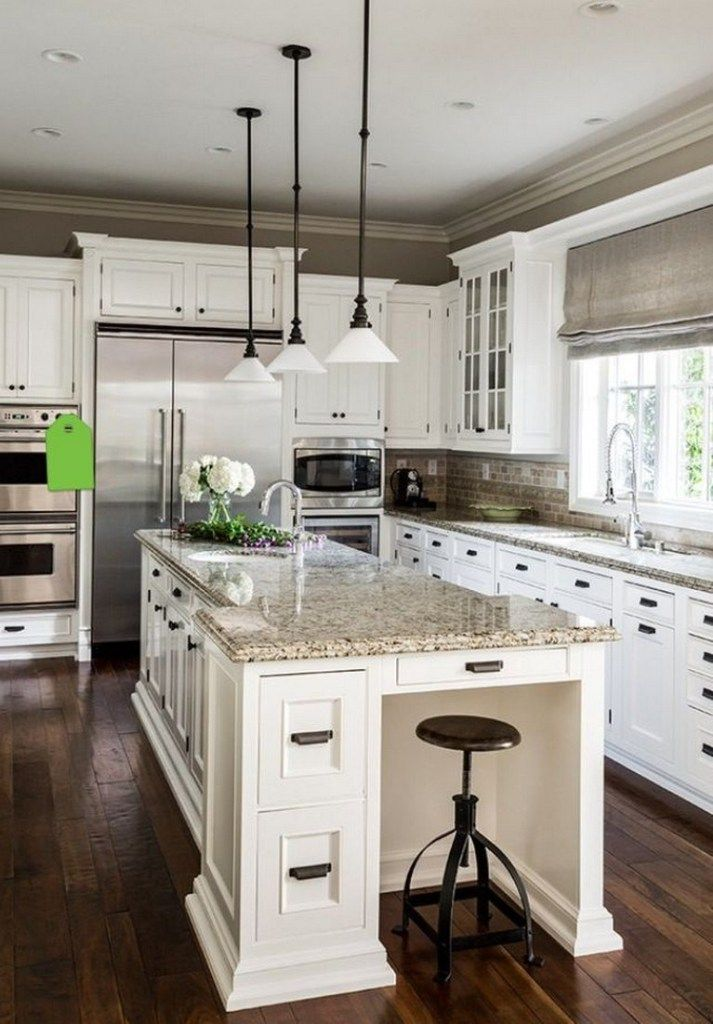 65 best white kitchen design ideas for white cabinets 31 kitchen design kitchen remodel on kitchen remodel not white id=52881