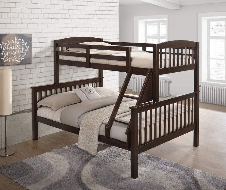 Best Riley Twin Full Bunk Bed With Images Bunk Beds Full 400 x 300