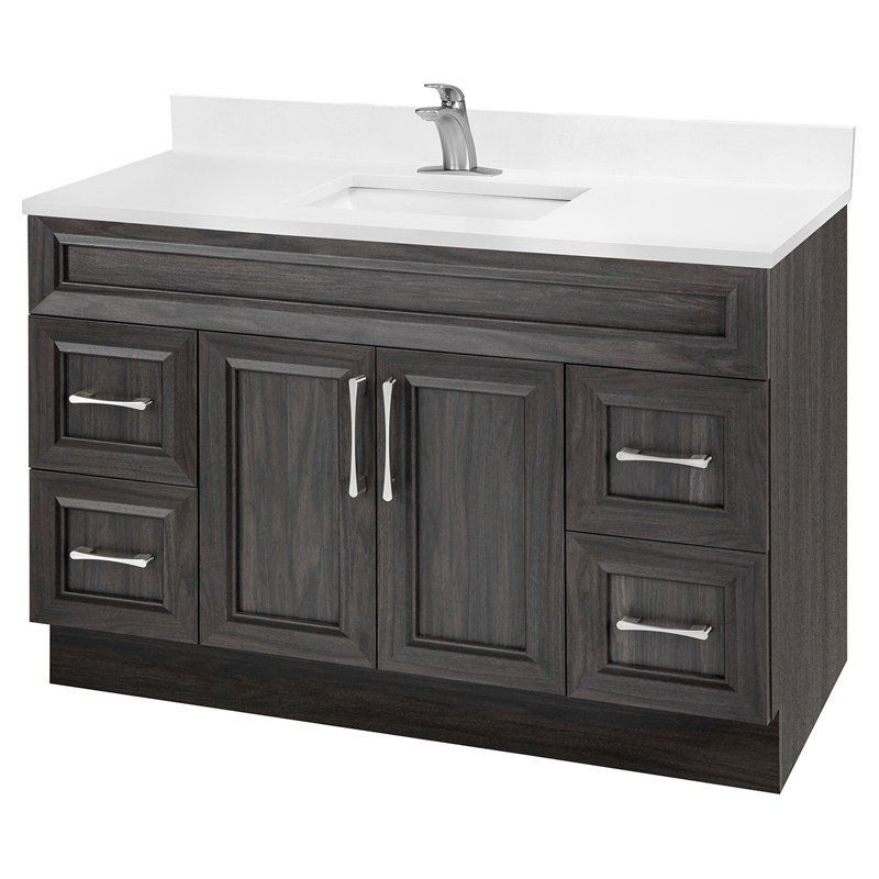 Cutler Kitchen & Bath Classic Transitional 48 in. Bathroom Vanity - CCKATR48SBT