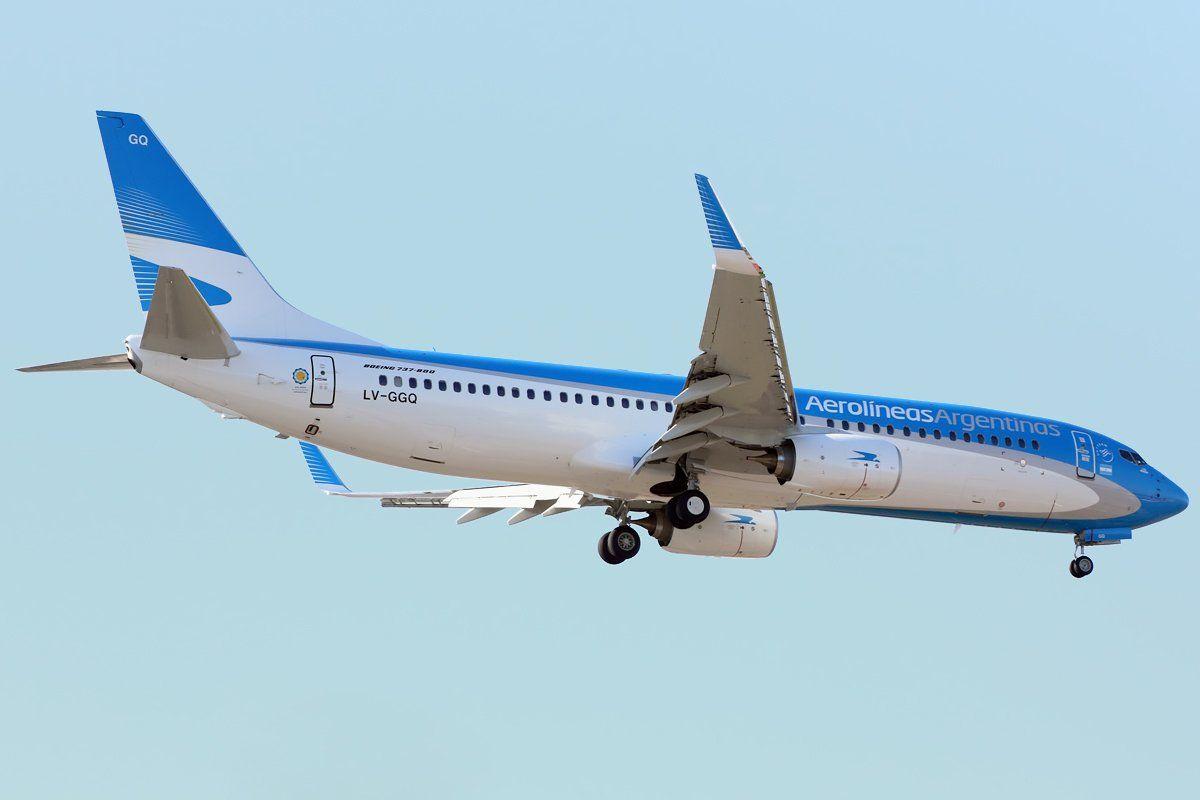 AR (LV-GGQ) aterrizando en AEP hace un rato @AeropuertosArg