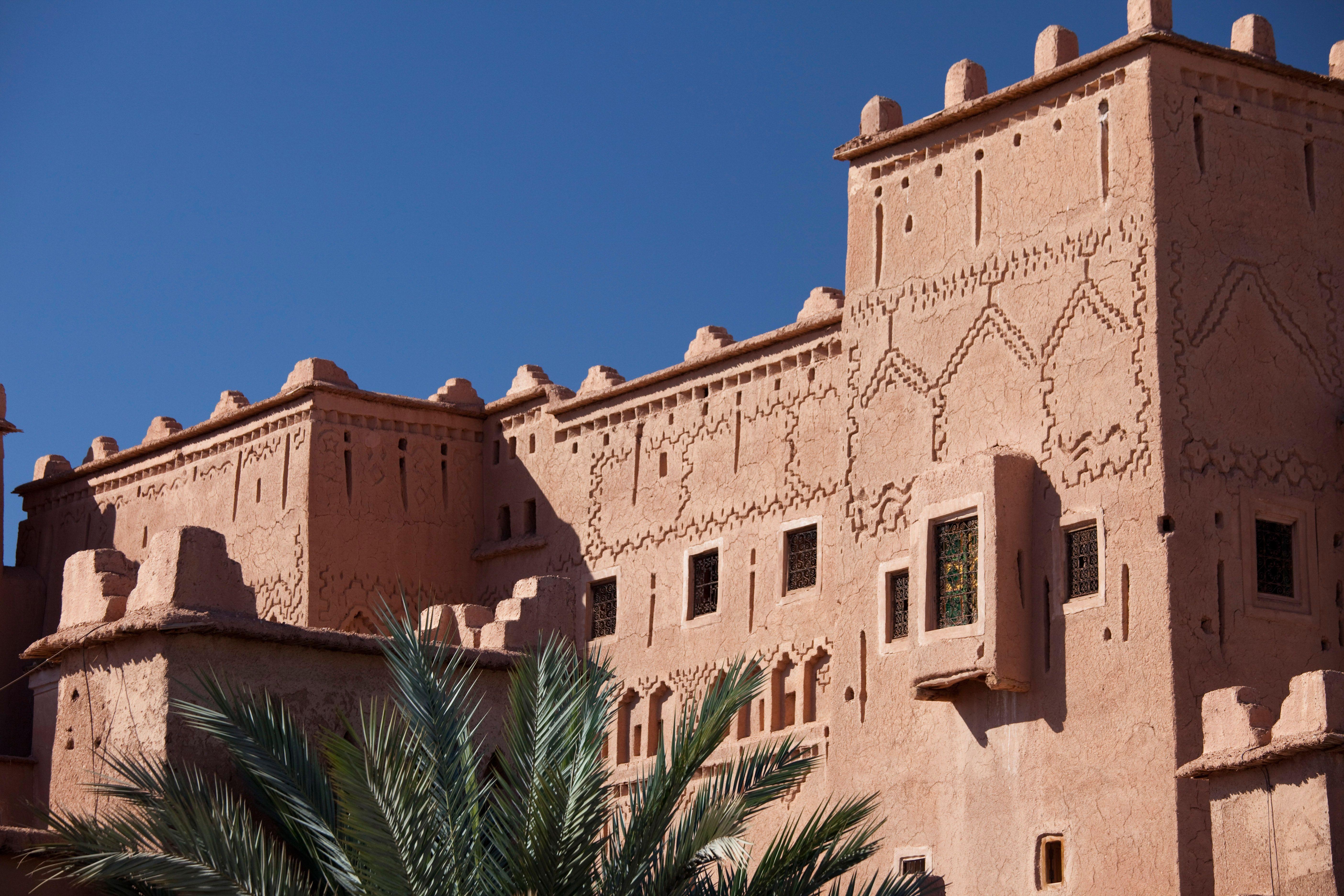 Visitez la kasbah de taourirt autrefois r sidence du - Chambre chez l habitant marrakech ...
