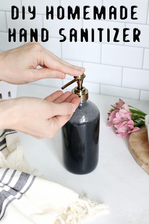 DIY Homemade Hand Sanitizer Liquid hand soap, Soap, Hand
