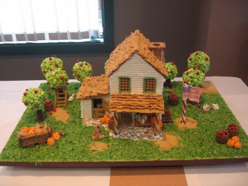 gingerbread in the fall