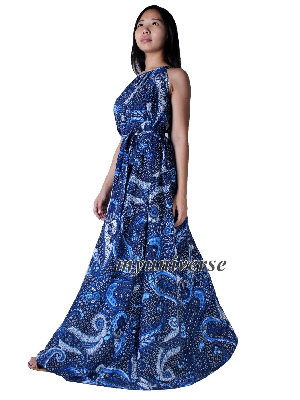 Cotton Dress Women Plus Sizes Clothing Long Maxi Dress Floral ...