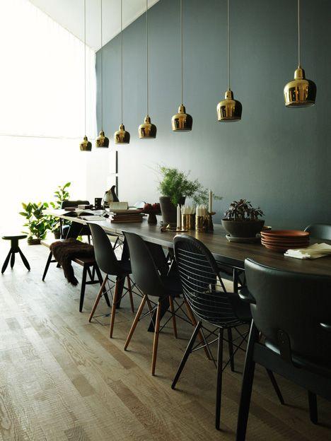 chaises et couleur du mur Idées pour la maison Pinterest - Quelle Couleur Mettre Dans Une Chambre
