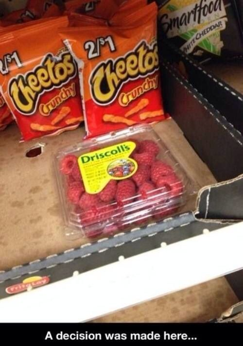 Decisions were made