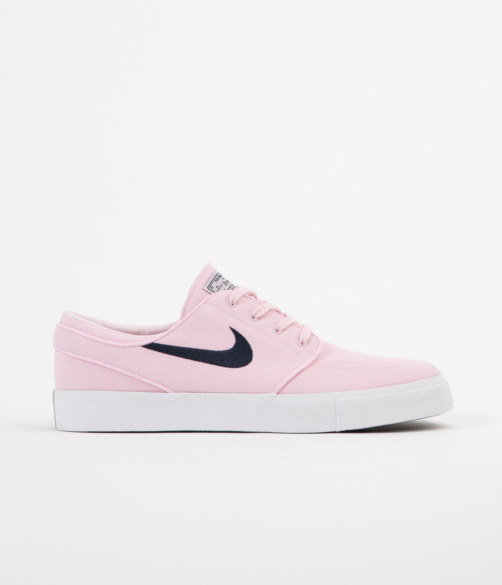 03e5085fd074 Nike SB Stefan Janoski Canvas Shoes - Prism Pink   Obsidian