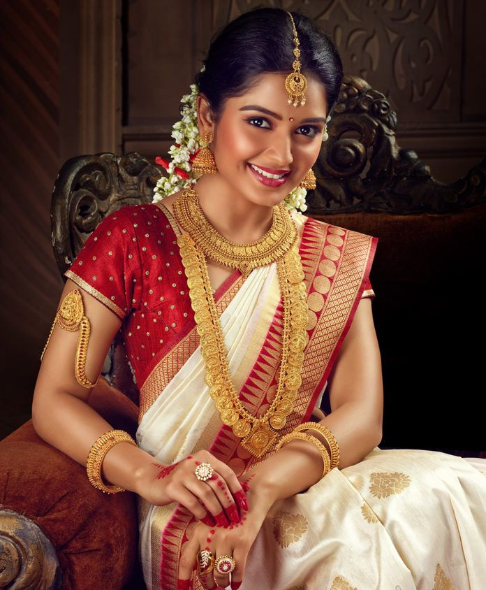 Photo of Telugu wedding saree designs …