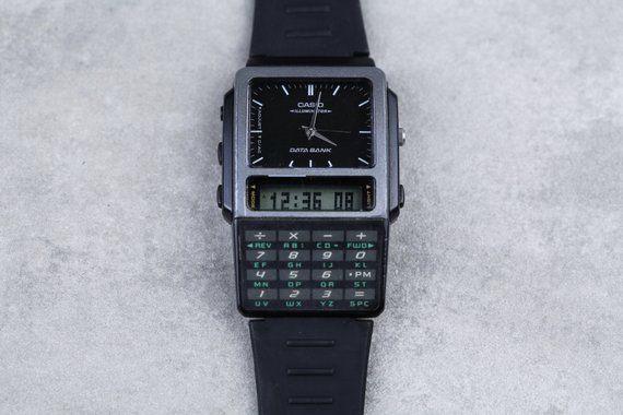 Vintage Casio Databank Calculator Digital watch ABC-30 all