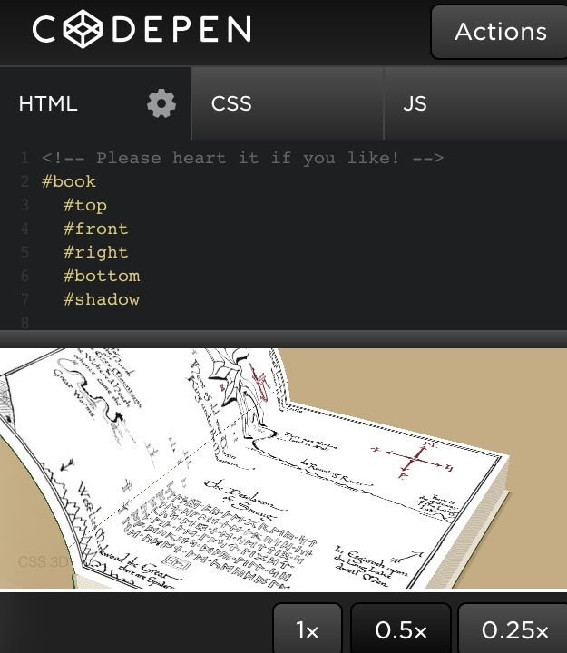 3D Blending Effect CSS   CSS/HTML/JS creations   Page flip