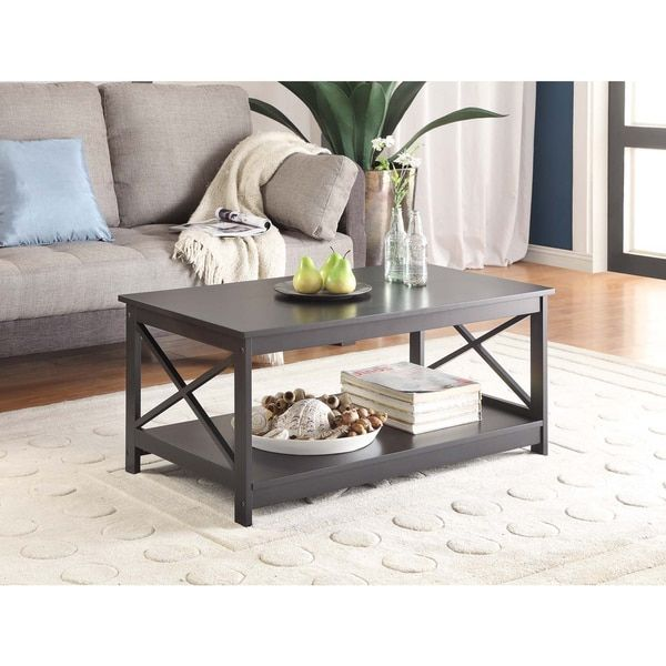 Beautiful Convenience Concepts Oxford Coffee Table | Overstock.com Shopping   The  Best Deals On Coffee