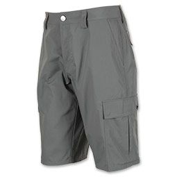 Bust out the stylish Men's Under Armour Vengeance Cargo Shorts when you want functionality and comfort whether you're working your way up a boulder or just hanging around the house.  A full, loose fit allows for enhanced range of motion and breathable comfort no matter where your day takes you.  Durable, lightweight fabric keeps you cool and comfy, and two side cargo pockets and secured back pockets let you carry around your belongings with ease.  FEATURES: MATERIAL: All...