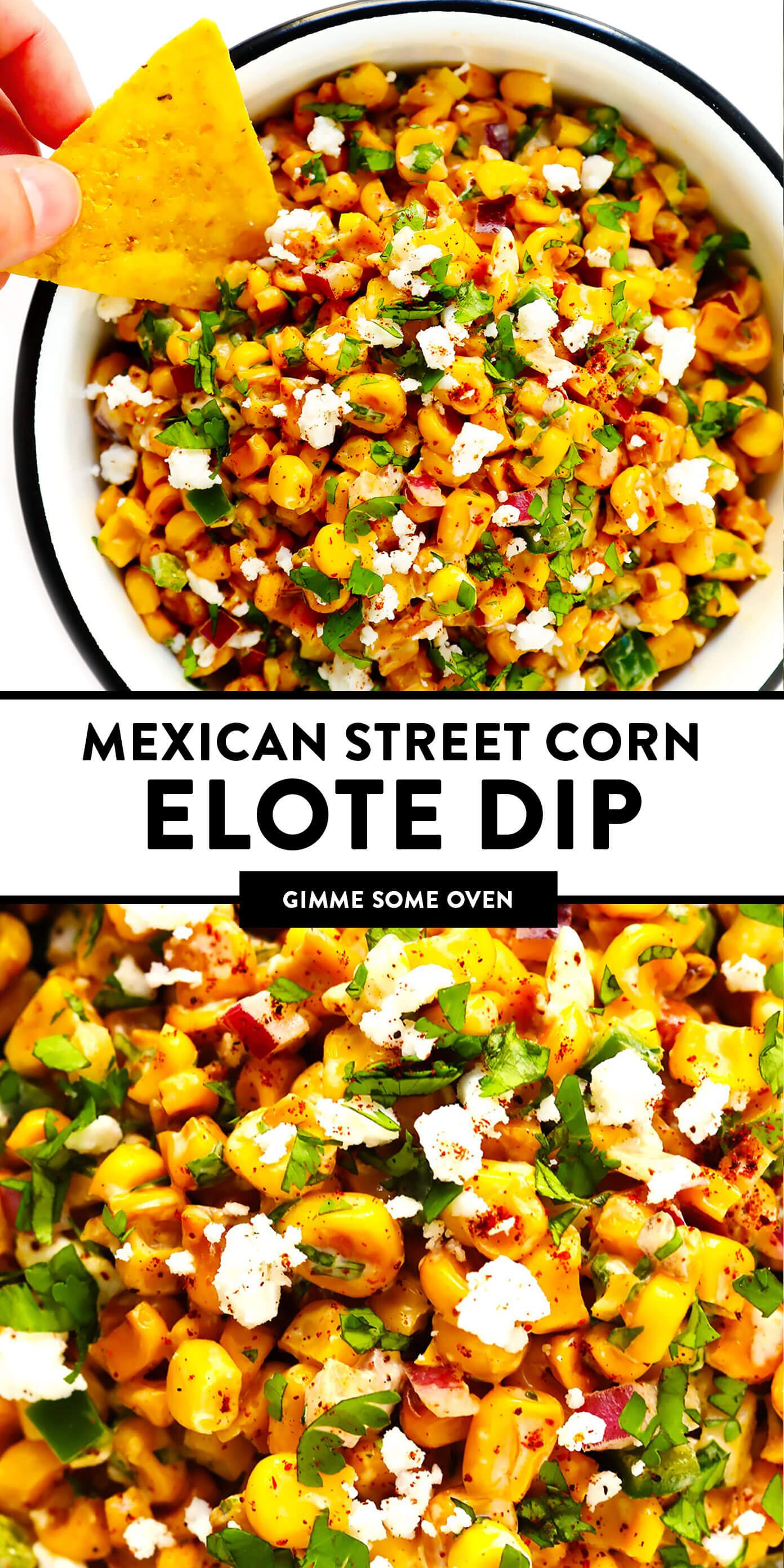 Easy Elote Dip | Gimme Some Oven