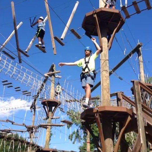 Pin Auf Charleston Adventure Park Visit Wild Blue Ropes
