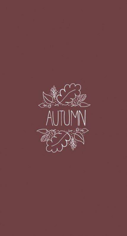 Super fall wallpaper phone tumblr cute Ideas #fallbackgrounds