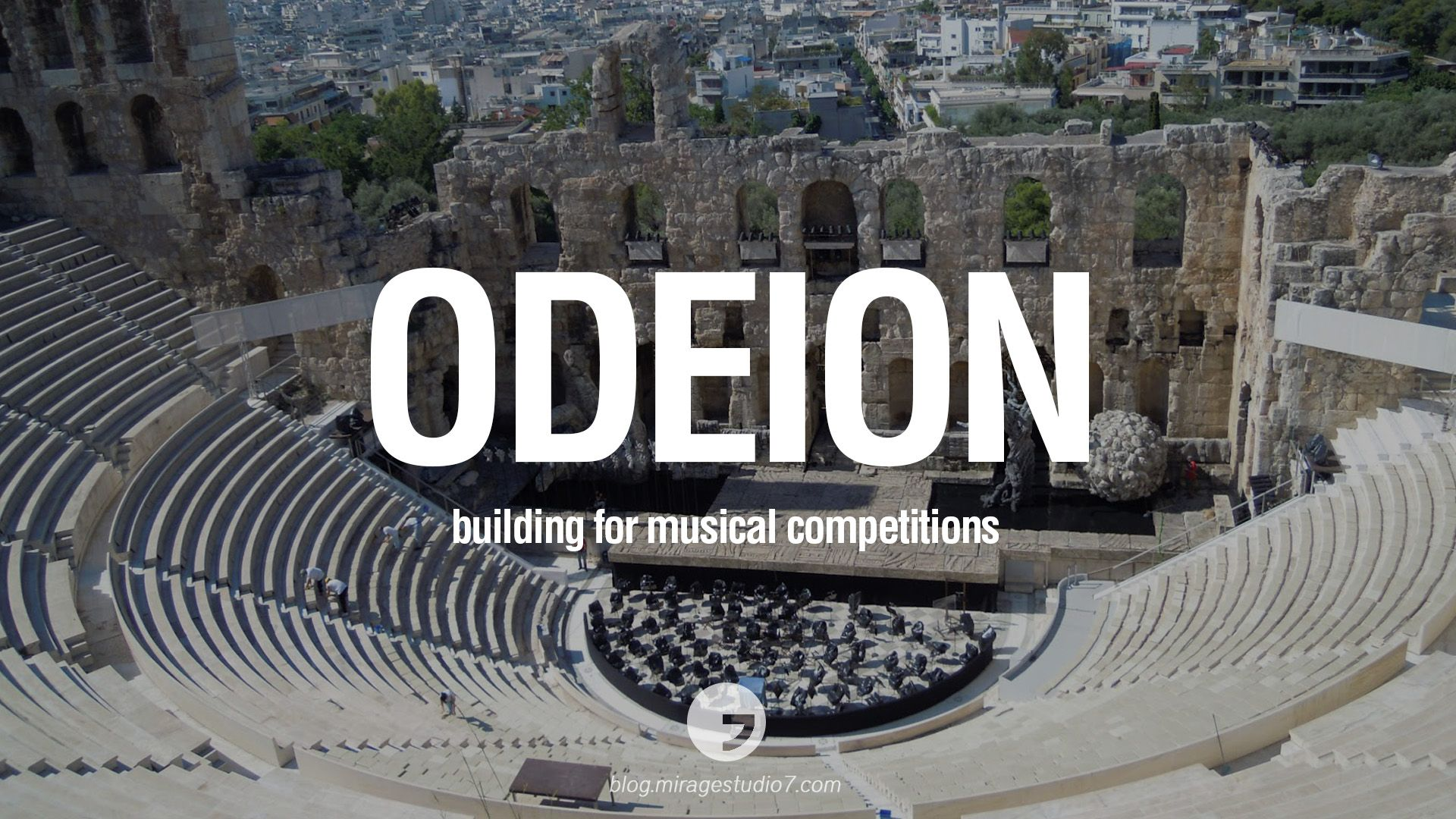 Odeion Building For Musical Competitions Beautiful Latin And Ancient Greek Architecture Words Instagram Facebook Twitter