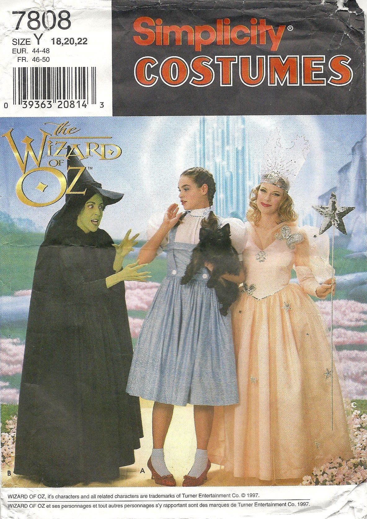 Simplicity 7808 Wizard of Oz costumes | * Stylin' & Profilin ...