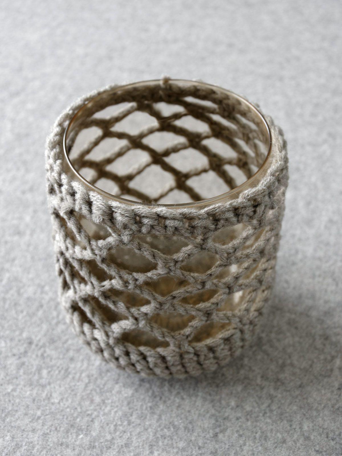 DIY | gehäkelte Vase und sommerlicher Wildblumenstrauß - mxliving