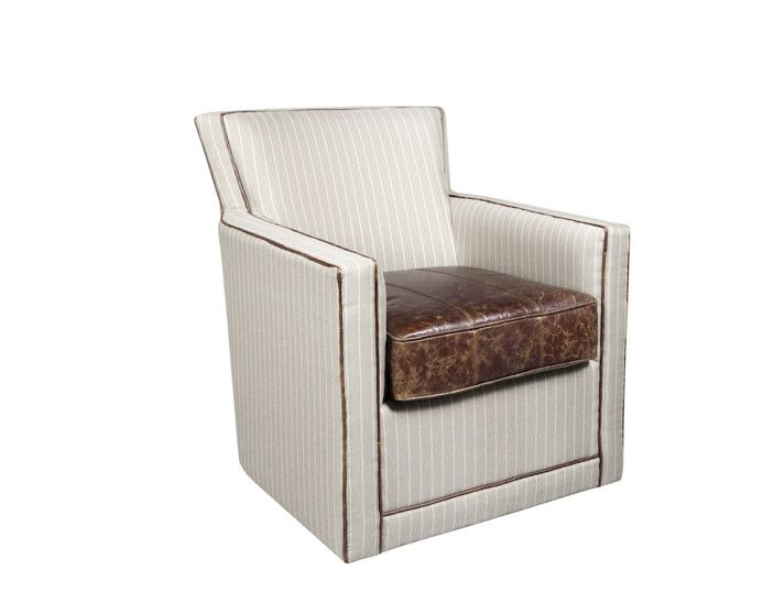Alder And Tweed Denton Swivel Occasional Chair Rustic Living Room Furniture Upholstered Chairs Occasional Chairs