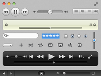 iTunes的用户界面工具包