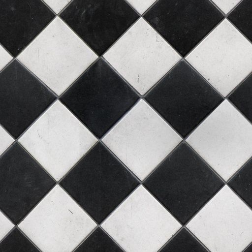Tiles 05 uv m cm 512 512 textures pinterest for Black and white tile floors