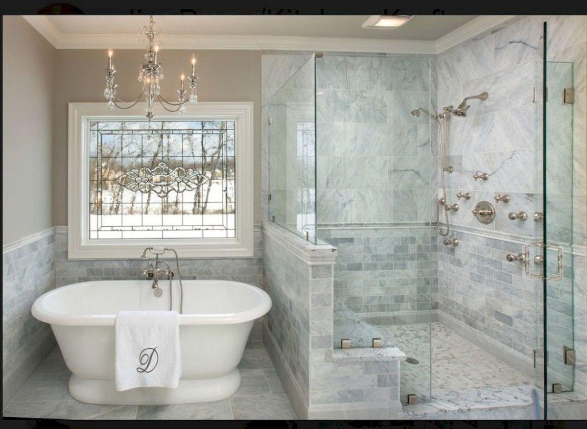 63 Insane Rustic Farmhouse Shower Tile Remodel Ideas ... on Rustic Farmhouse Bathroom Tile  id=91628