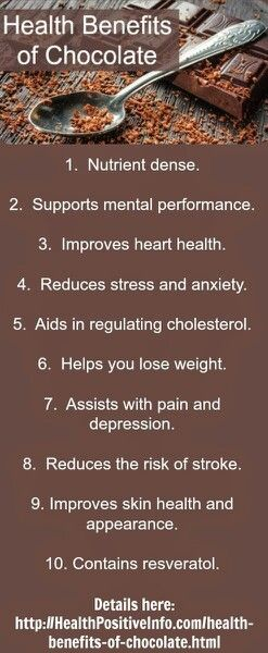 Eat Chocolate And Be Healthy Chocolate Benefits Health Benefits Coconut Health Benefits
