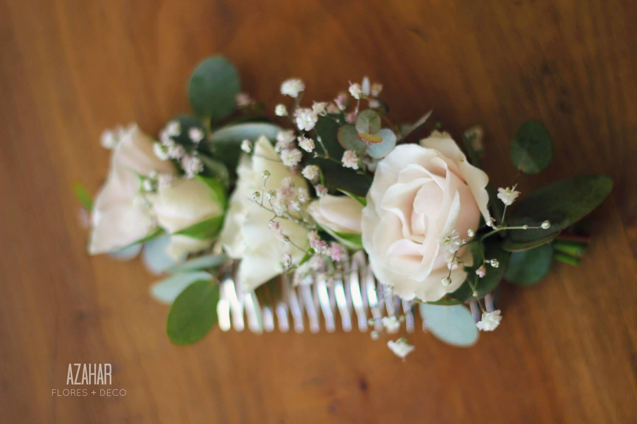 Tocados Flores Naturales  df6a47677838
