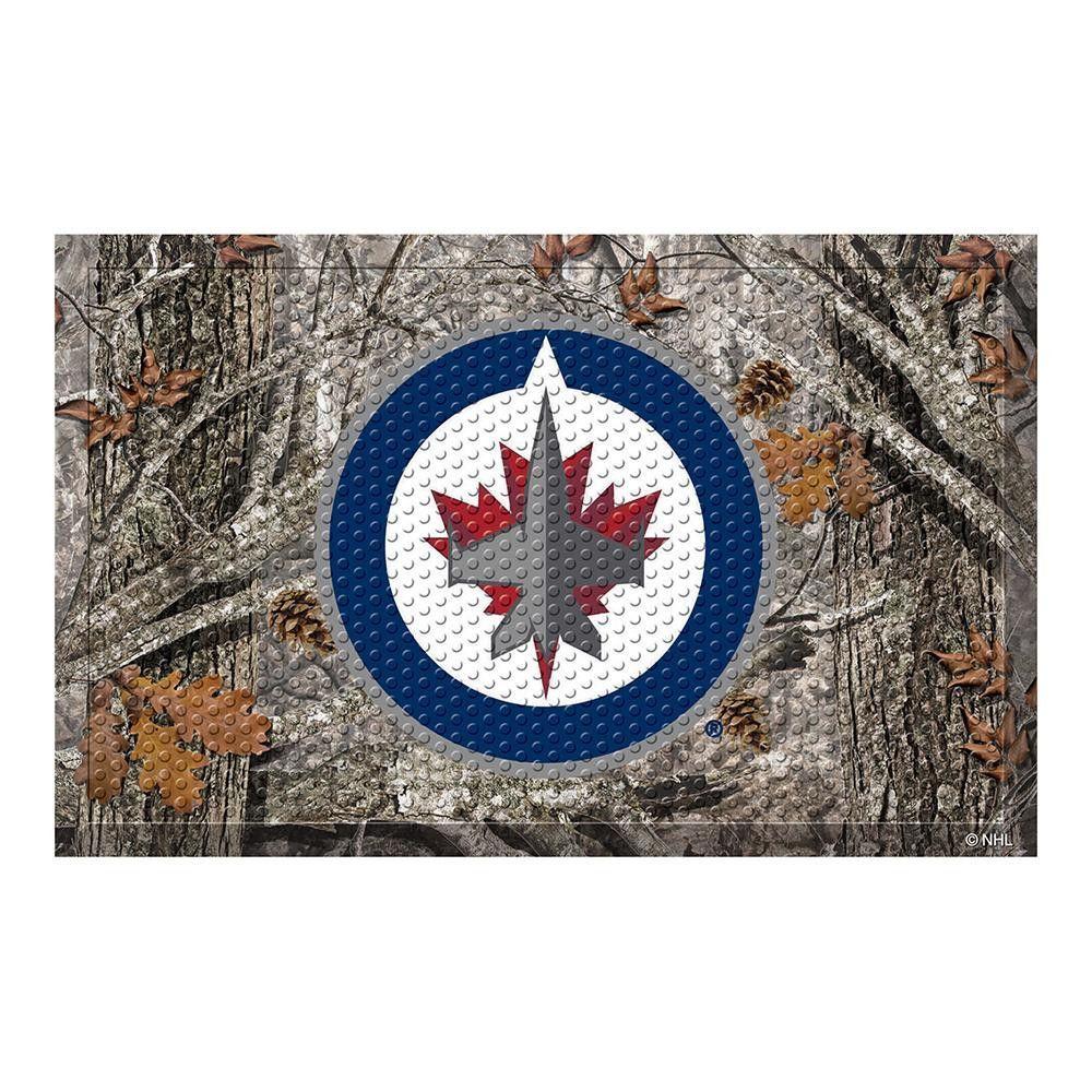 Winnipeg Jets Nhl Scraper Doormat 19x30 Boston Bruins