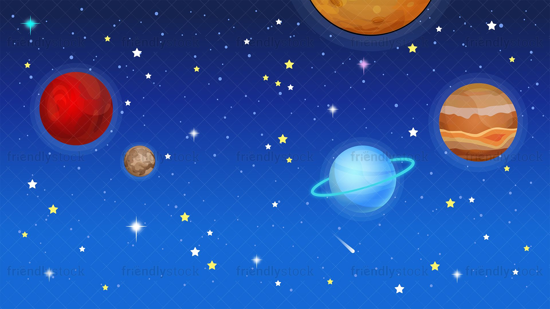 Outer Space Background Space backgrounds, Cartoon clip