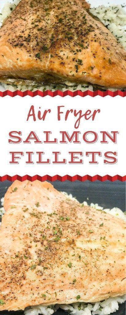 Air Fryer Salmon Recipe Cooking Salmon Fillet Cooking