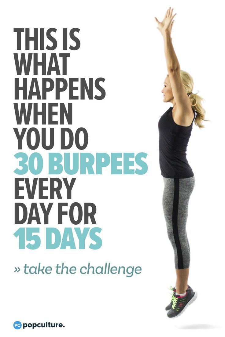 This Is What Happens When You Do 30 Burpees Every Day for 15 Days - Take part in our Burpee Challeng...