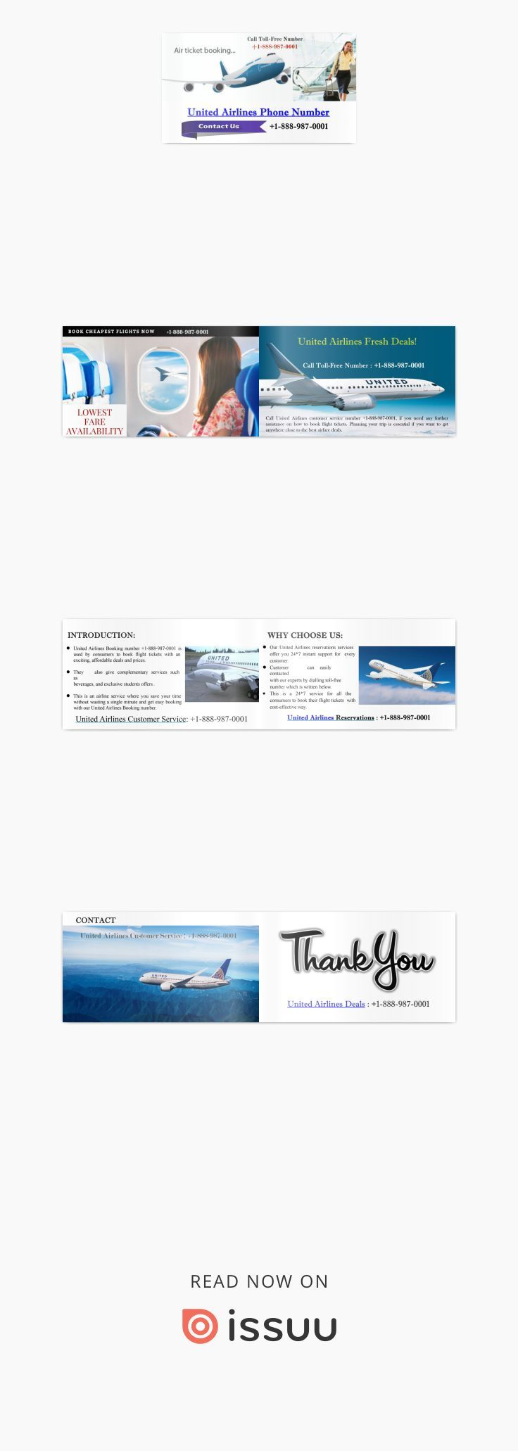 Call +1-888-987-0001 Get Lowest United Airlines Flights