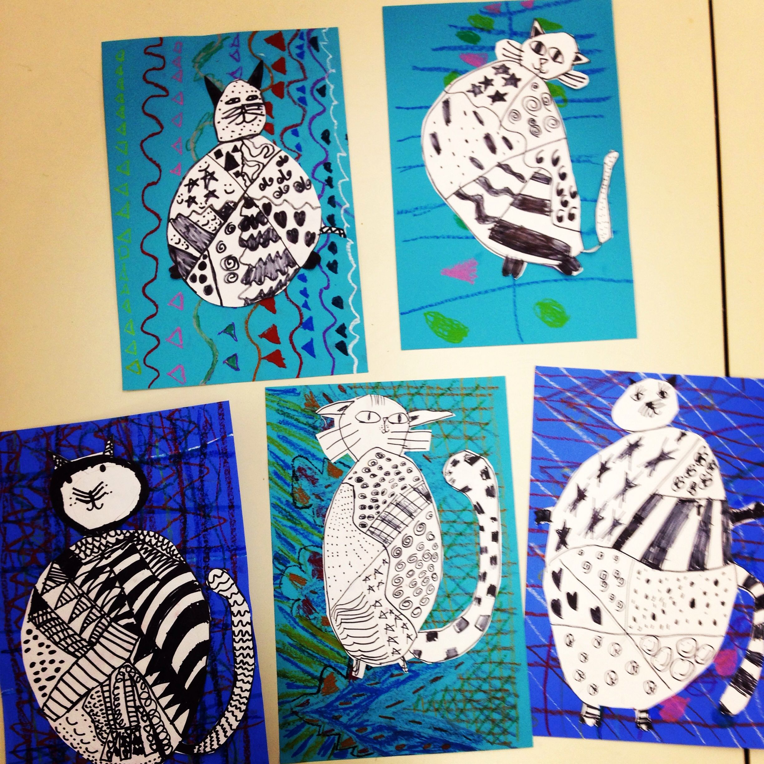 Patterns And Cats Art Education