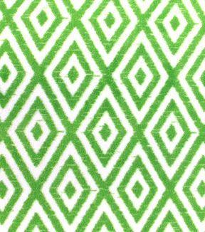 Anti-Pill Fleece Fabric - Kiwi Diamond